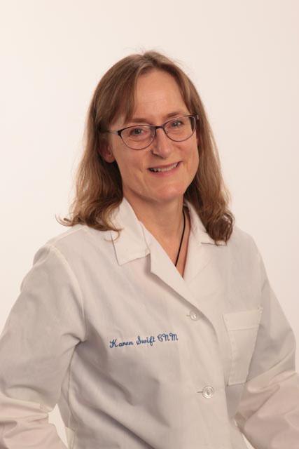 Karen Swift, CNM, ARNP